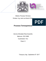 Procesos Termoquimicos - Miroslaba Pérez Escamilla