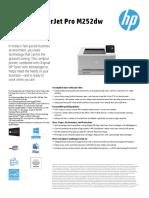 HP M252dn Datasheet
