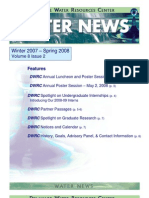 Winter 2007-Spring 2008 Water News Delaware Water Resources
