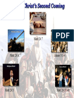 2) Signs of Christs Coming