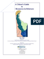 A Citizen's Guide to Water Resources in Delaware