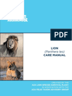 Lion Care Manual 20121
