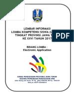 Kisi Kisi Lks smk electronic application 2017