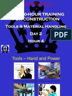 Tools & Material Handling