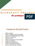 MSproject en Pratique