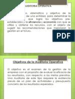 Diapositiva Tipos de Auditoria Operativa