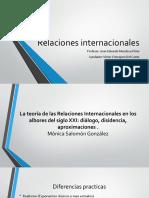 Monica Salomon Relaciones Internacionales Nuevos Desafios