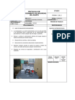 Protocolo Procedimiento de Seguridad en Un Torno CNC