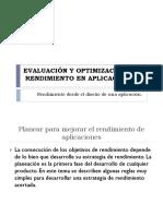 Evaluación y Optimización Del Rendimiento en Aplicaciones