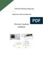 NEtwork Analysis Lab Manual