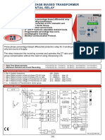 Differential Relay