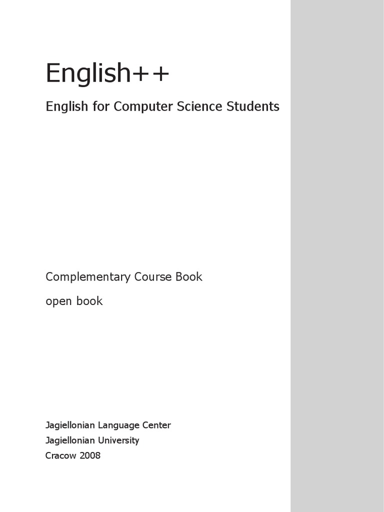 english for computer science student pdf computer program