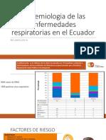 Epidemiologia de Las Enfermedades Respiratorias en El Ecuador