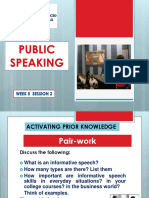 Week 5 Day 2 Types Inform Speech2c Guidelines Inf Speech1