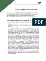 First Steps ERP EHP6