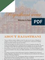 Rajasthanin Women's Wear