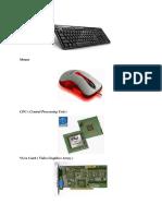 Bagian Dan Komponen Komputer