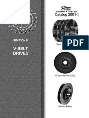 V Belt Pulley Martin | Belt (Mechanical) | Safety