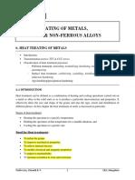Chapter 6 Heat Treating of Metals