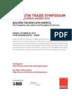 Latin Trade Symposium