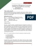 conceptualfoundationsofmanagementaccountingthenewfoundationsofmanagementaccounting-160417101330