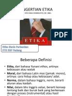 1. Pengertian Etika 1