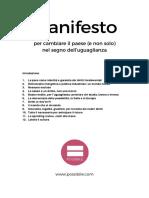 Manifesto Possibile