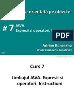 Programare orientata pe obiecte