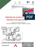 Caracostea - Metode de Analiza Critica a Literaturii de Specialitate_Bucuresti_2015
