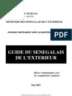Le guide du senegalais de l'éxterieur
