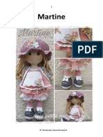 Crochet Martine doll