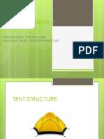 Struktur tenda