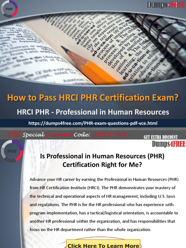 Best Free Hrci Phr Practice Test Exam Questions Dumps4free