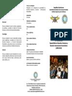 Brochure Especialidad Dhh y Dih