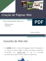 Conceitos Iniciais - Criação de WebSites