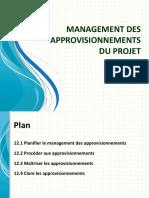[9] Management Des Approvisionnements Du Projet