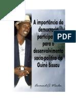 Importancia de Democracia Participativa Para Guine Bissau