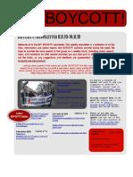 BOYCOTT! Newsletter 8.8.10-14.8.10