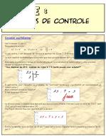 Cles de Controle - Division Euclidienne