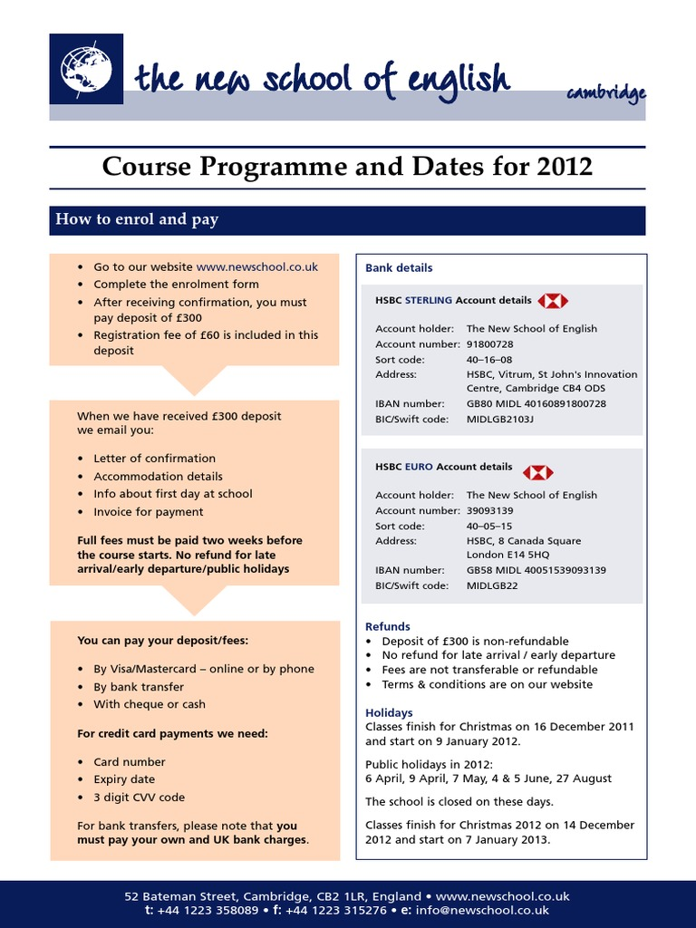 NSE 2012 | Payments | Financial Services