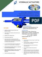 WACT Hydraulic Actuators