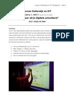 Cursus Onderwijs en ICT Jaar 01 Deel 06