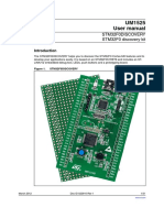 UM1525 STM32F0 Discovery Kit User Manual