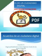 Acuerdos de Un Ciudadano Digital
