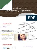 Estudio Financiero- Despeciciación y Amortización