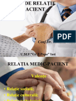 MODELE DE RELATIE  MEDIC -   PACIENT.ppt