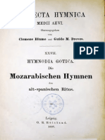 Hymnodia Gotica (1897) {Analecta Hymnica Medii Aevi XXVII} - BLUME, Clemens