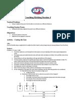 kicking coaching session 4