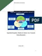 Seguridad Energetica. Metodologia de Calculo. Caso Venezuela