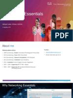 Networking Essentials 2017